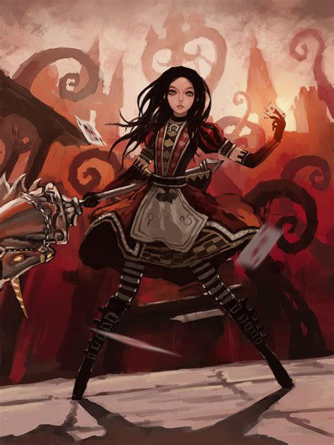 Alice 02 Alice Madness Returns Fanclub Fan Art