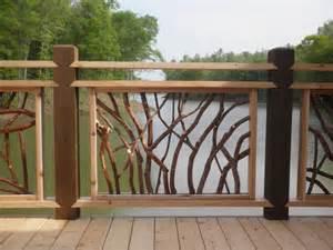 deck railings for lissara lodge north carolina triad