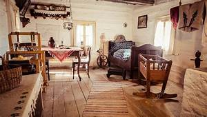 Staré chalupy interiér
