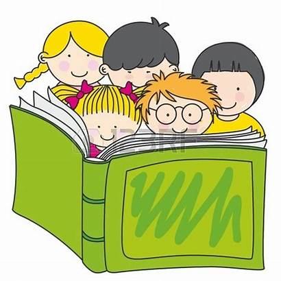 Clipart Children Clip Reading Books Lectura Advertisement