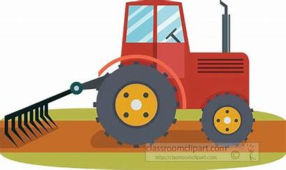 Tractor Farm Clipart Agriculture Classroom Transparent