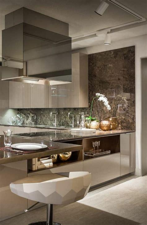 cuisine de luxe design la chaise de cuisine moderne en 62 photos inspirantes