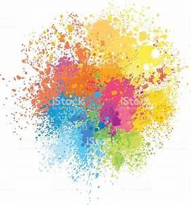 Tache De Couleur Peinture Fond Blanc : fond de taches de peinture de couleur vecteurs libres de droits et plus d 39 images vectorielles de ~ Melissatoandfro.com Idées de Décoration