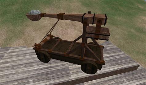 Parts Roman Catapult Diagram Schematics For