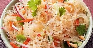 glasnudelsalat rezept küchengötter