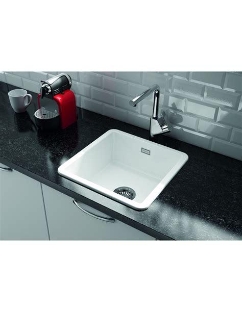 undermount ceramic kitchen sinks uk metro by thoms denby met1040 1 0 bowl ceramic sink 8721