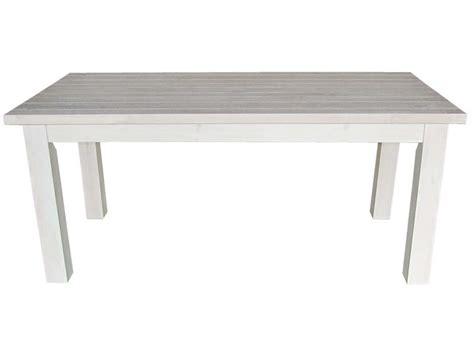 table rectangulaire avec allonge 230 cm max saraya en pin