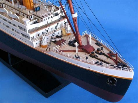 RMS Titanic 40u0026quot; - Titanic Model Cruise Liner - Wooden Cruise Ship - Model Ship | EBay