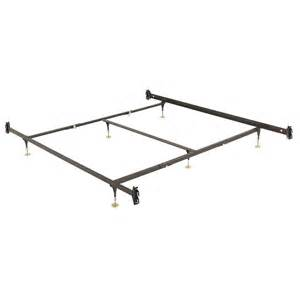 leggett platt king bed frame with 6 adjustable height glide legs and hook on side rails