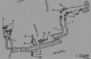 Oil Lines For Front Quick Couplers  02j02