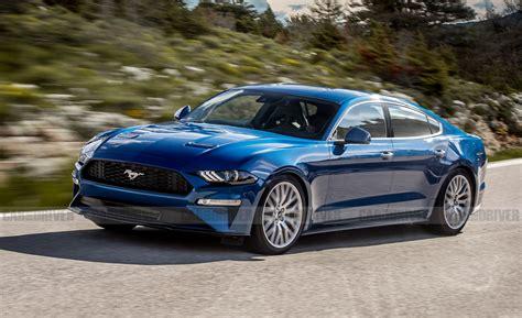 Rumors Of A New Pony-car Sedan