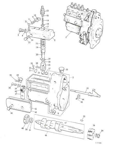 Ford Tractor Injector Diagram by Ford Tractor Cav Injector Parts Diagram