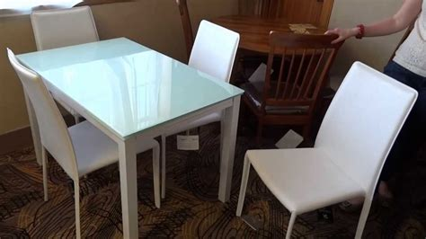 furniture baraga white dining table set d410 review