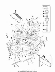 Mtd 17af2acp004  2009  Parts Diagram For Mower Deck 50 Inch