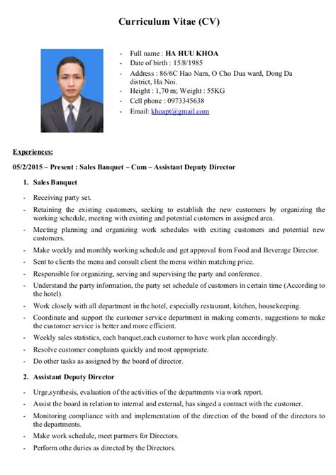 converting a cv to a resume 28 images sle resume