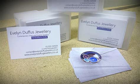teviot print shop business cards