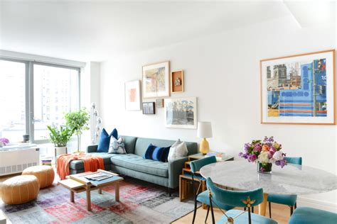 Decorating Ideas For New Apartment by An Inspired Uptown Apartment Homepolish