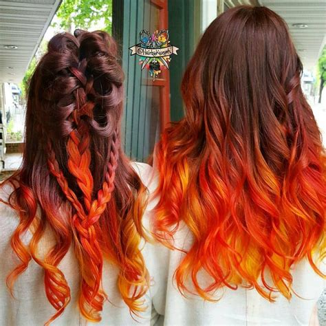 Orange And Brown Hair 5 Free Hair Color Pictures