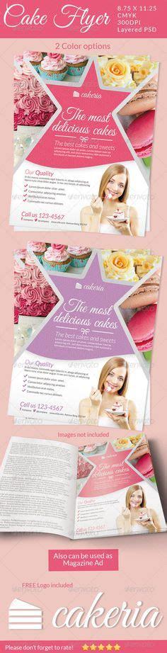 kleigh kakes images menu flyer cake business