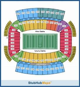 Penn State Student Section Seating Chart Kentucky Football Commonwealth Stadium Espn