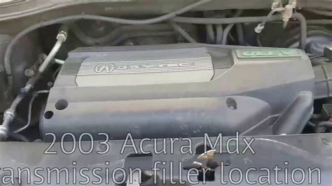 2003 Acura Transmission by 2003 Acura Mdx Transmission Filler