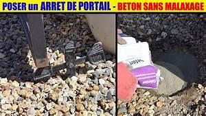 Butée De Portail Battant : poser un arret de portail avec b ton sans malaxage rapide ~ Edinachiropracticcenter.com Idées de Décoration