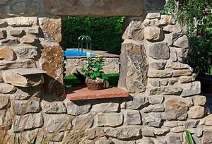 Terrasse Im Garten : wege treppen und terrassen gartengestaltung mit naturstein leipzig krostitz ~ Whattoseeinmadrid.com Haus und Dekorationen