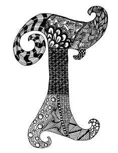 zentangle letter y monogram drawing zentangle alpha zentangle letter b monogram in black and white drawing 87671