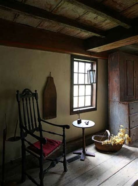 early  england interior william haskell house gloucester ma   american country