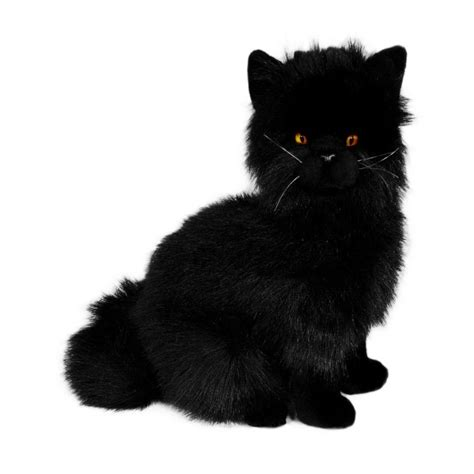 black cat stuffed animal toy bocchetta plush toys buy