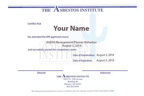 asbestos license asbestos removal certified