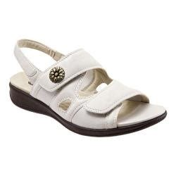 shop womens softwalk tanglewood  white nappa leather