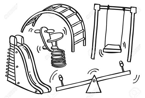 school playground clipart black and white playground clipart black and white pencil and in color