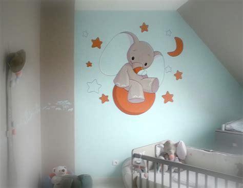 chambre bébé décoration murale décoration murale chambre bébé pas cher élégant cuisine dã