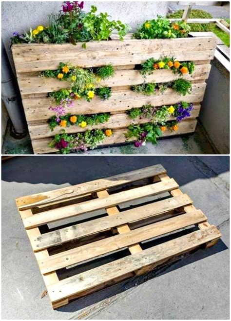 diy pallet garden projects  update  gardens