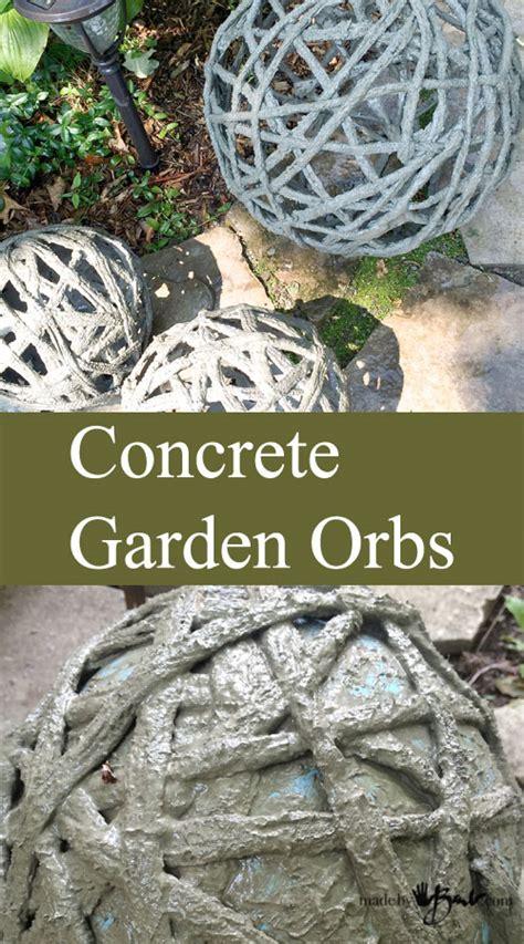diy concrete projects   garden