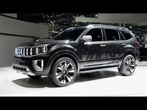 2020 Kia Mohave by 2020 Kia Mohave Quot Masterpiece Quot Exterior