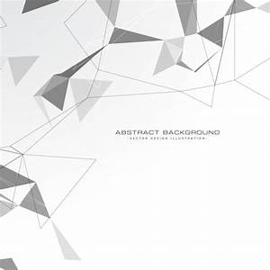 White abstract triangles background Vector   Free Download