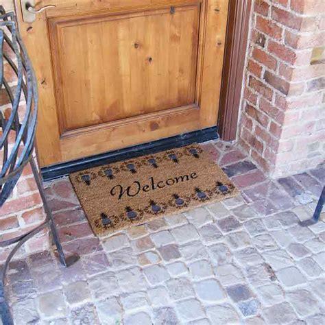 Tropical Doormat by Quot Tropical Pineapple Doormat Quot