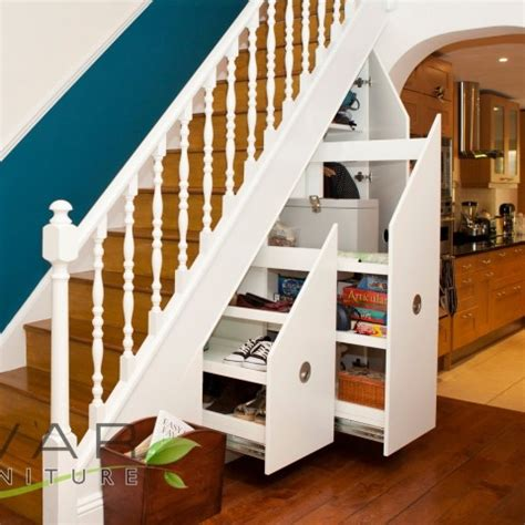 stairs storage ideas gallery  north london