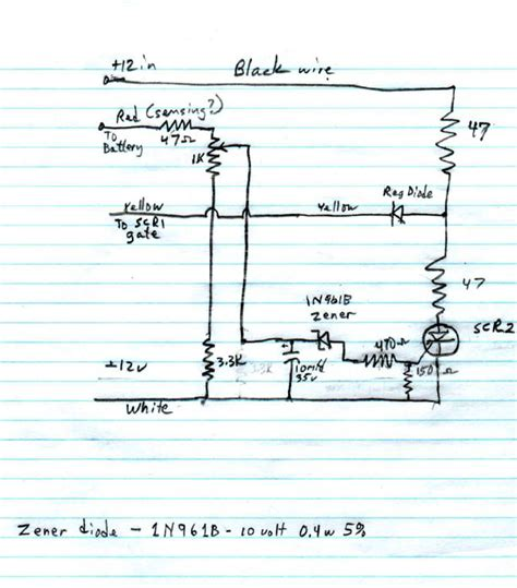 Magnetek Power Converter 3200 Wiring Diagram by Repairing Magnatek Rv Power Converter