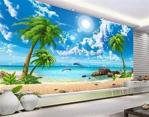 wallpaper scenery for walls Custom 3d background