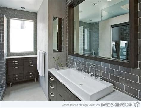 gray bathroom tile ideas a look at 15 sophisticated gray bathroom designs home