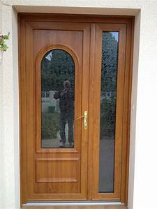 Porte pvc couleur bois obasinccom for Porte d entrée pvc en utilisant porte fenetre 225x140