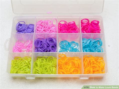 5 Easy Ways To Make Loom Bands (with Pictures) Wikihow