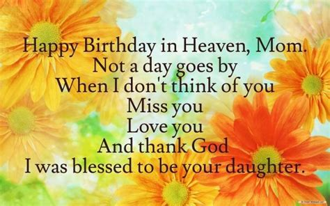 happy birthday  heaven mom   daughter pictures   images  facebook
