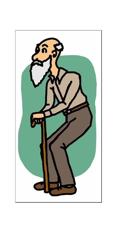 Clip Abcteach Clipart Oldman