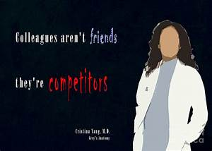 Grey's Amat... Cristina Yang Cookie Quotes