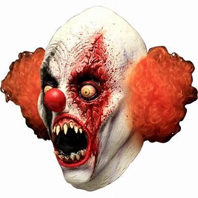 Clown Mask Horror Halloween Pennywise Creepy Evil