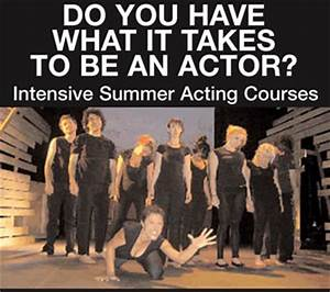 Summer Acting and Film Courses